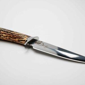 lovecký nůž s pouzdrem - imitace paroží
