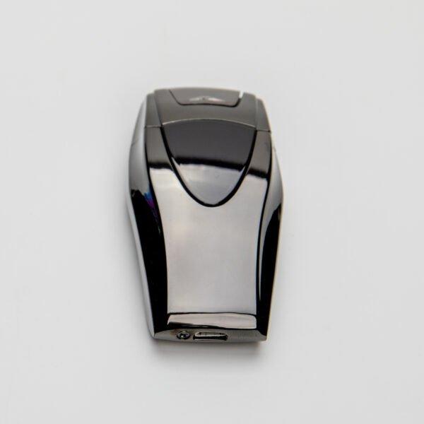 Luxusní plazmový zapalovač - černý