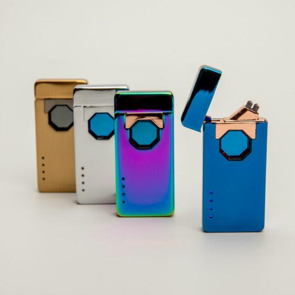 Plazmový zapalovač s laserem USB s vlastním textem nebo logem