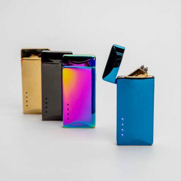 Stylový plazmový zapalovač USB - různé barvy