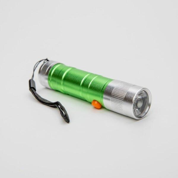 LED svítilna kapesní zelená outdoor