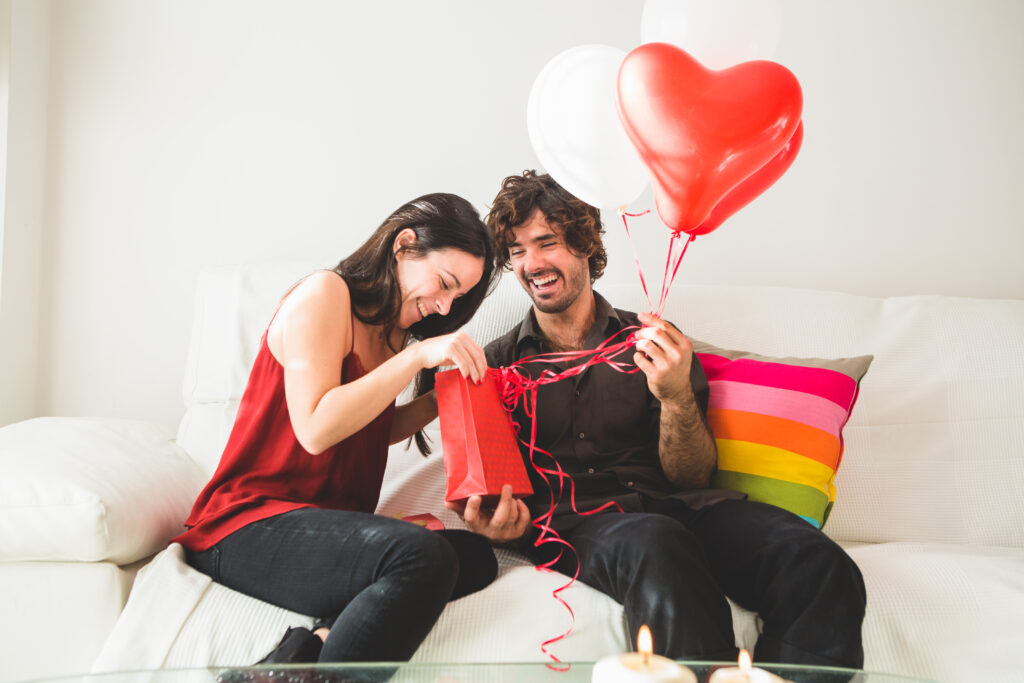 Tipy na dárky pro zamilované, Dárek k Valentýnu