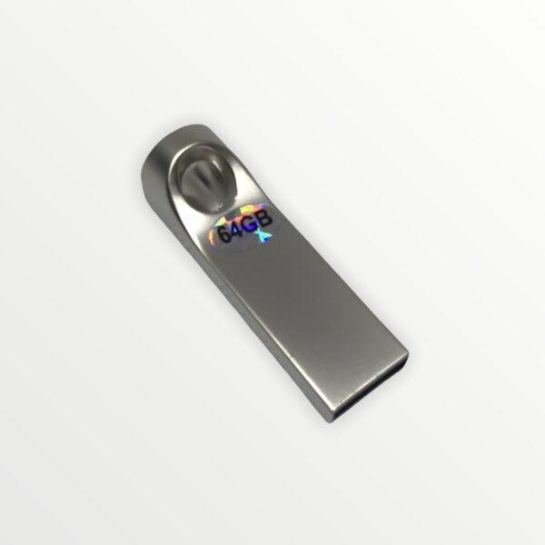 Moderní USB Flash disk 64 GB s vaším textem nebo logem.