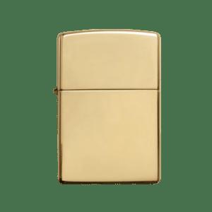 Zippo benzínový zapalovač mosaz Vintage 24129
