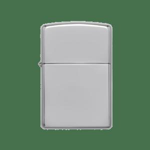 Zippo benzínový zapalovač chromový vysoký lesk 22001