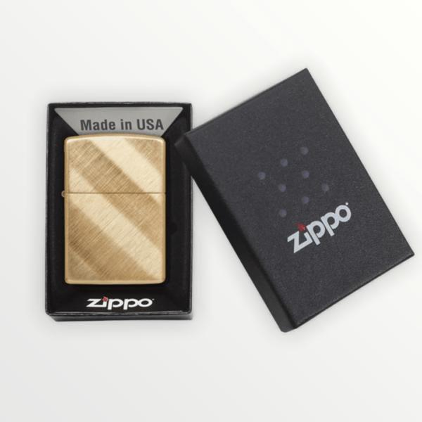 Zippo benzínový zapalovač Diagonal Weave 23160