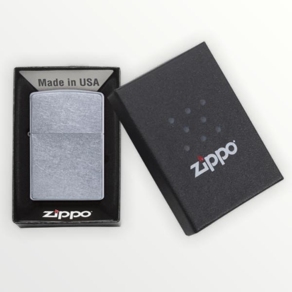 Zippo benzínový zapalovač Street Chrome ™ 25050