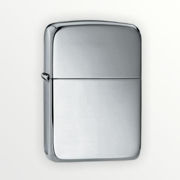 Luxusní Zippo benzínový zapalovač REPLICA ryzí stříbro 28078