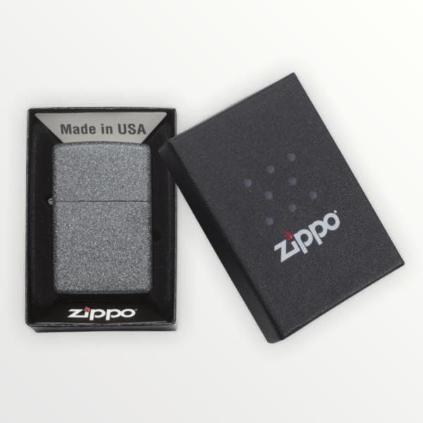 Originální Zippo benzínový zapalovač IRON STONE 29049