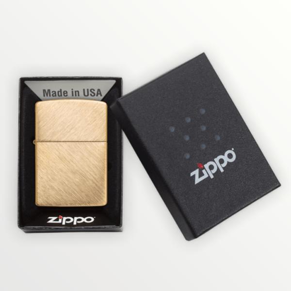 Originální Zippo benzínový zapalovač Herringbone Sweep 27157