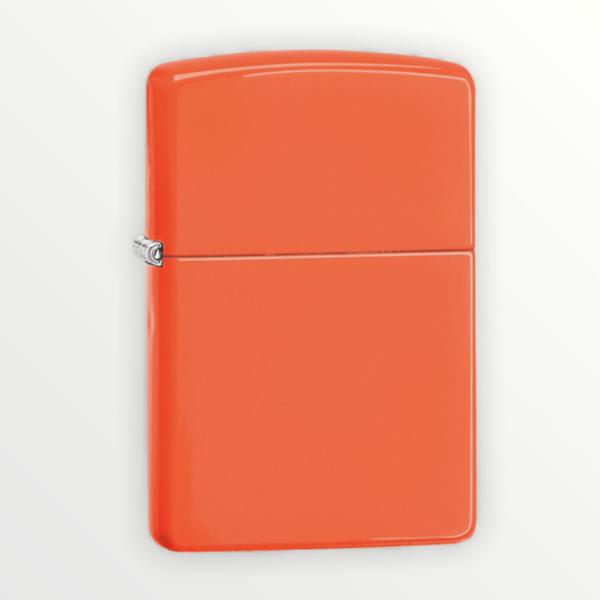 Zippo zapalovač oranžový neon