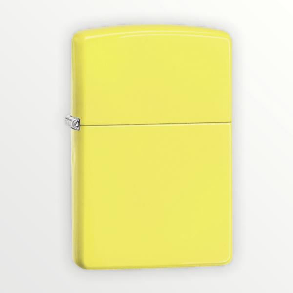 Zippo zapalovač žlutý neon