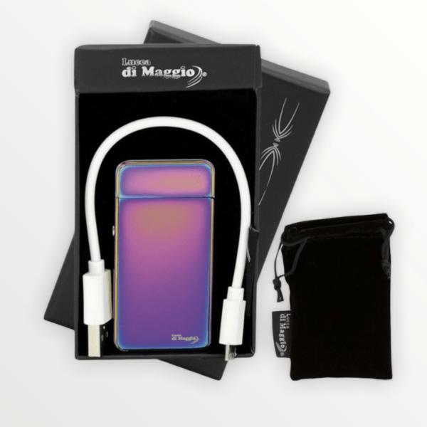 USB plazmový zapalovač Lucca Di Maggio 2x s vlastním textem nebo logem - 35392