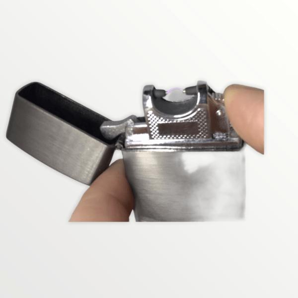 USB plazmový zapalovač imitace ZIPPO s vlastním textem nebo logem