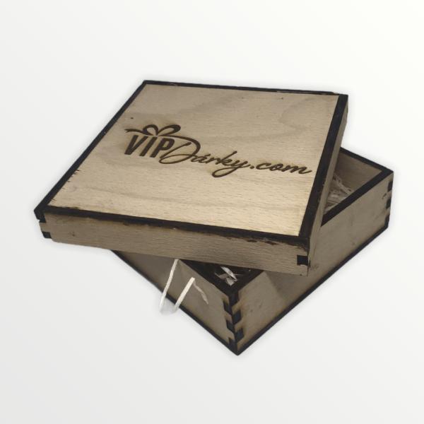 Originální dřevěná dárková krabička