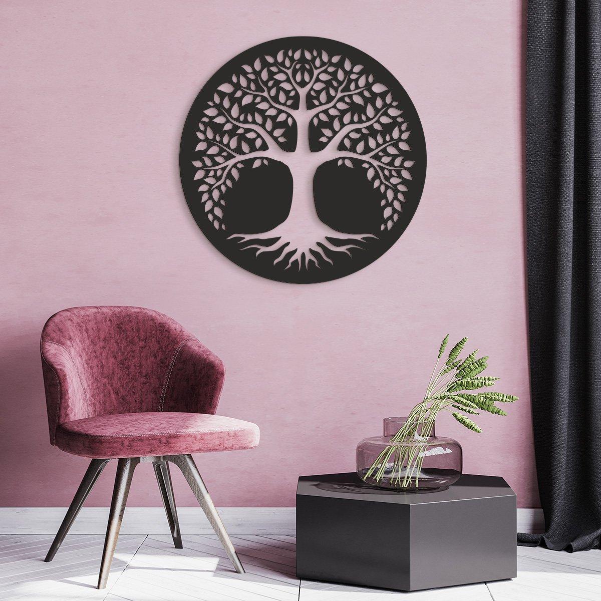 VIP 3D dřevěný obraz strom života