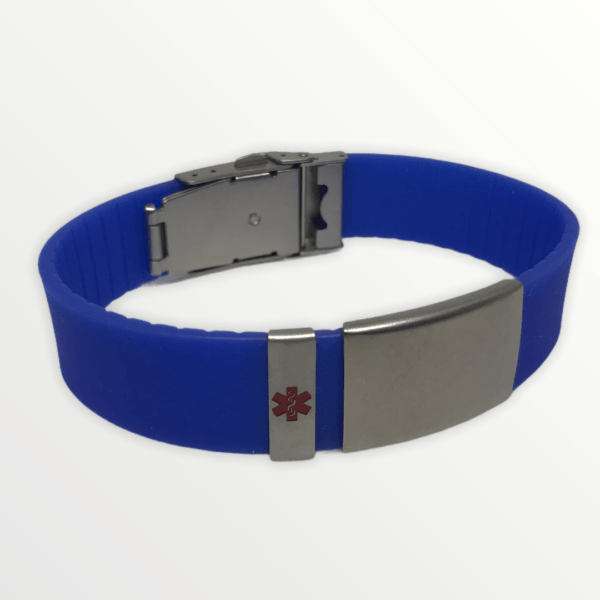 Body ID modrý s červeným křížem