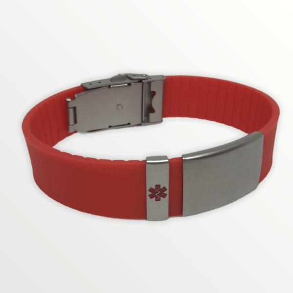 Body ID červený s červeným křížem