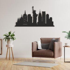 VIP 3D dřevěné obrazy do domácnosti na zakázku s motivem na přání - world cities, různé barvy