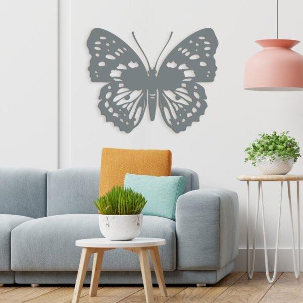 VIP 3D dřevěné obrazy do domácnosti na zakázku s motivem na přání - motýl, různé barvy